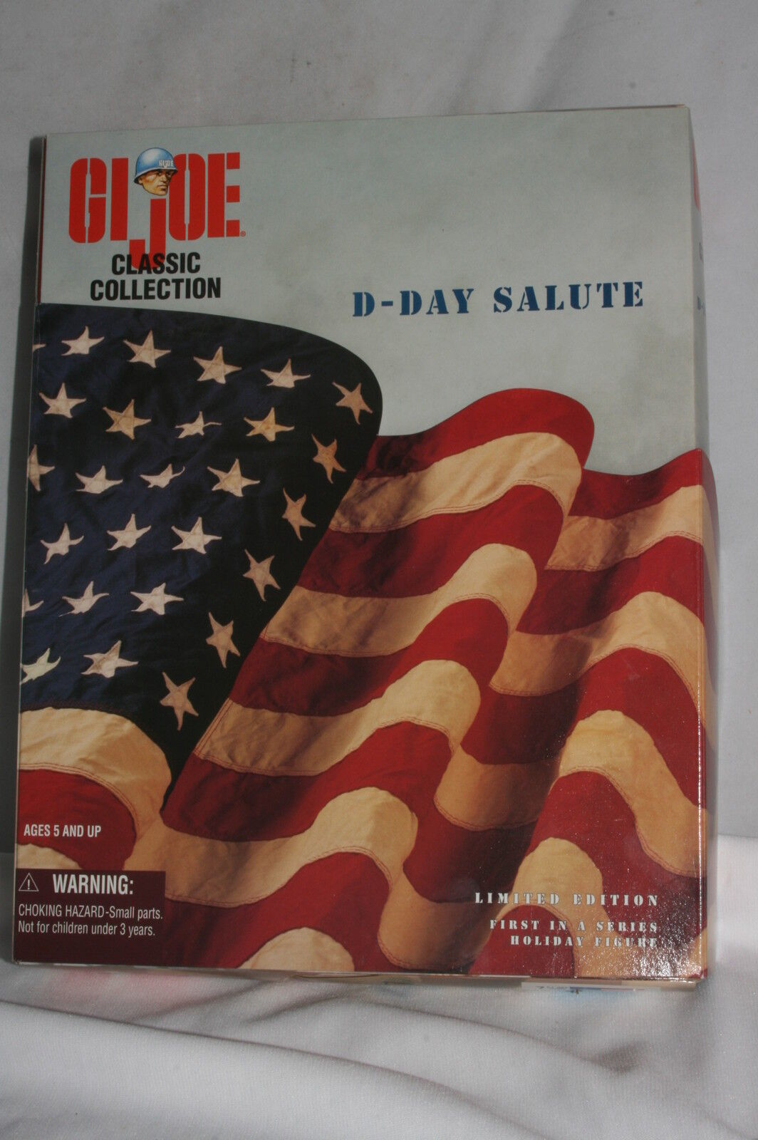 GI Joe Classic Collection, D-Day Salute, The Big rosso One Soldier, Mint Boxed