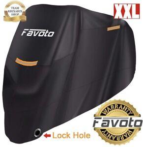 FAVOTO-Telo-Coprimoto-Impermeabile-Copri-Scooter-Moto-Motorino-Antipioggia-Fori