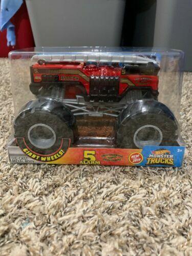 Monster Trucks For Sale >> Hot Wheels Monster Trucks 124 Scale Alarm 2 Vehicle For Sale Online Ebay