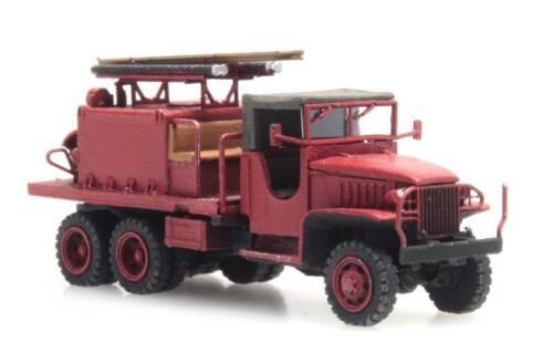 Artitec 316.069 GMC 353 Feuerwehr Spur N 1:160 Fertigmodell LKW