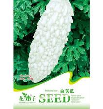 Rare White Balsam Pear Seed Bitter Melon Organic Vegetable 1 Pack 10 Seeds