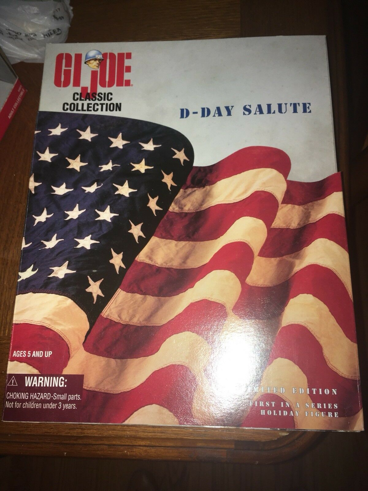 "LIMITED EDITION Big Red One D-DAY SALUTE GI JOE CLASSIC COLLECTION WWII 12"" LE"