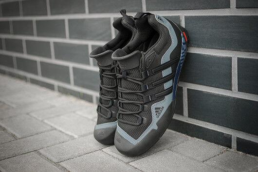 ADIDAS TERREX SWIFT SOLO D67031 Noir Homme Chaussures OUTDOOR TREKKING WALKING NEW