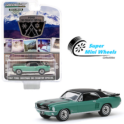 1967 Ford Mustang Ski Country Special *** Greenlight 1:64 OVP