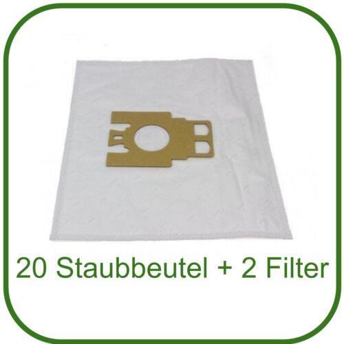 20 Staubsaugerbeutel für Miele S 2121 /& S 771 Tango Staubbeutel S2121 NEU S771