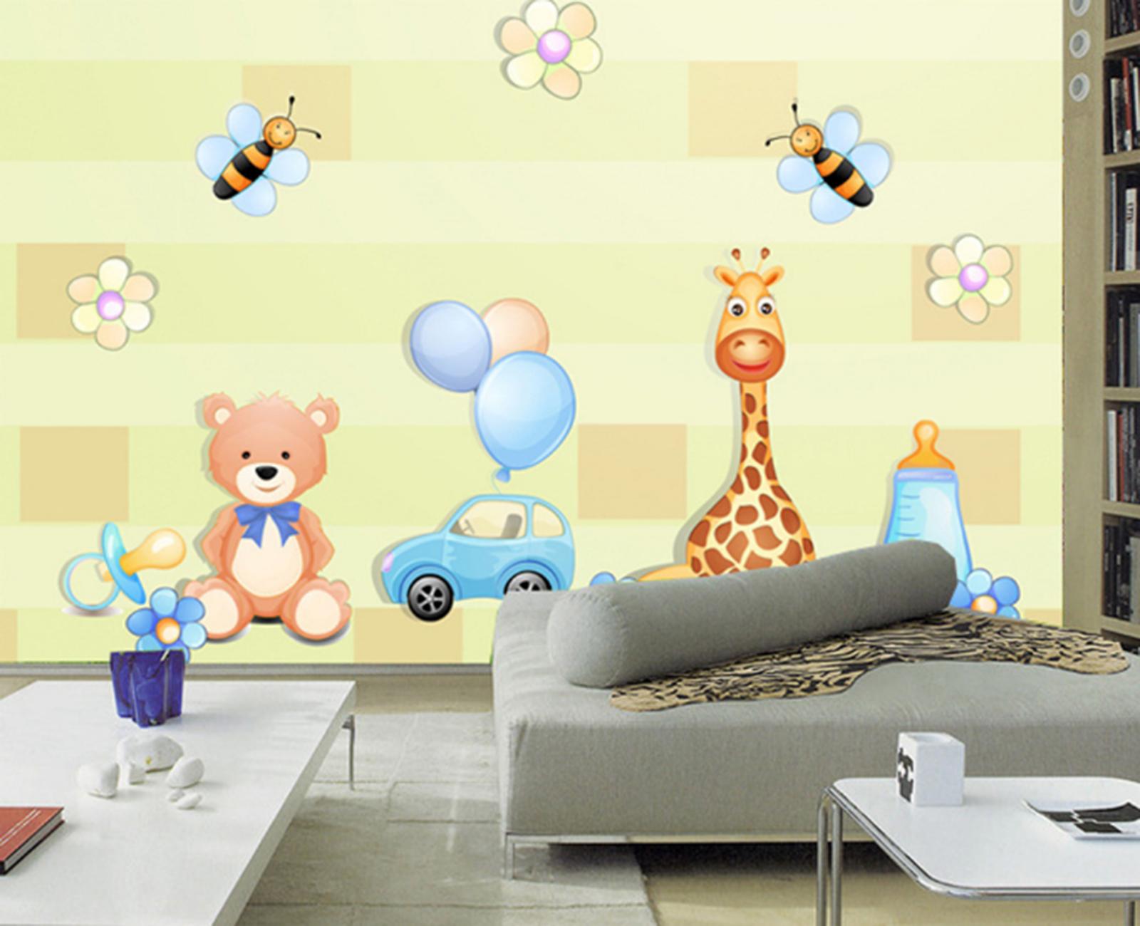 3D Tiere Karikatur Kind 793 Tapete Wandgemälde Tapeten Bild Familie Familie Familie DE Summer | Spezielle Funktion  | Modern Und Elegant In Der Mode  | Qualität Produkt  c4709c