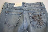 $35 Natural Reflections Cotton Blend Medium Wash Boot Cut Jeans Size - 6