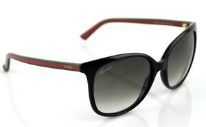 Image is loading RARE-NEW-Genuine-GUCCI-Black-Green-Red-Green-