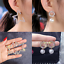 Creative-Star-Luxury-Gold-Silver-Crystal-Pearl-Fashion-Ear-Stud-Earrings-Gift thumbnail 1