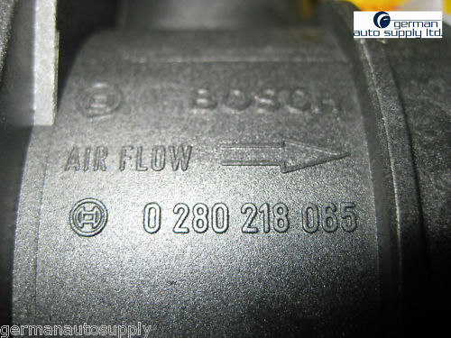 0280218065 Audi Air Mass Sensor NEW OEM BOSCH MAF