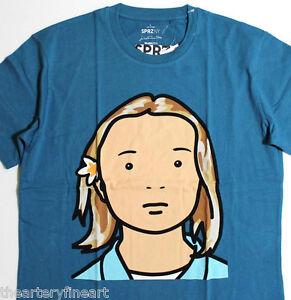 JULIAN-OPIE-x-UNIQLO-039-Elena-Schoolgirl-039-SPRZ-NY-Graphic-Art-T-Shirt-XL-NWT