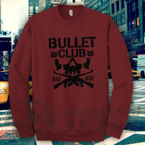 New Japan Pro Wrestling Bullet Club Sweatshirt Bone WWE Soldier NJPW UFC jumper