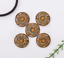 10X-Western-3D-Flower-Turquoise-Conchos-For-Leather-Craft-Bag-Belt-Purse-Decor miniature 2