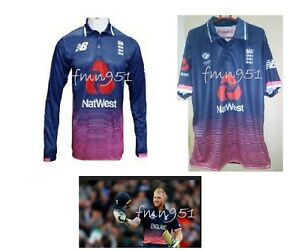 8c75df3c Champion's Trophy 2017 England Cricket Team Half & Full Sleeve ...