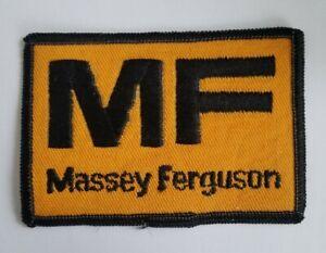 VINTAGE MF Massey Ferguson HAT Jacket FARMING TRUCK PATCH