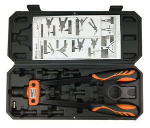 Nietzange-Set-Nietmuttern-Zange-M3-M4-M5-M6-M8-M10-Einnietmuttern-Werkzeug-Kfz