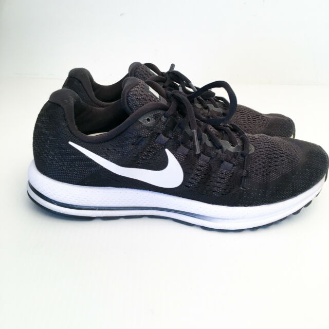 Mens Nike Air Zoom Vomero 12 Black Running Trainers Shoes 863762-001 US 10.5