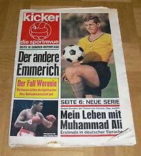 Kicker die sportrevue NR. 37 vom 11. September 1967 - Titelbild Lothar Emmerich