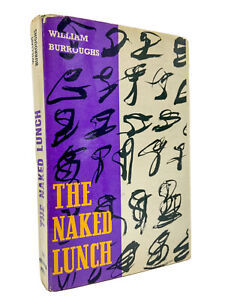 The Naked Lunch - 1ST EDITION (UK) - 1st Printing - FRANCS 1500 - BURROUGHS 1959