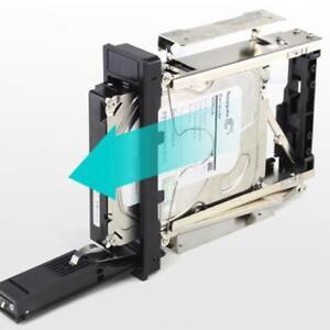 Rack-Mobile-SATA-3-5-039-039-Plateau-moins-Hot-swap-pour-Disque-Dur-HDD-Boitier