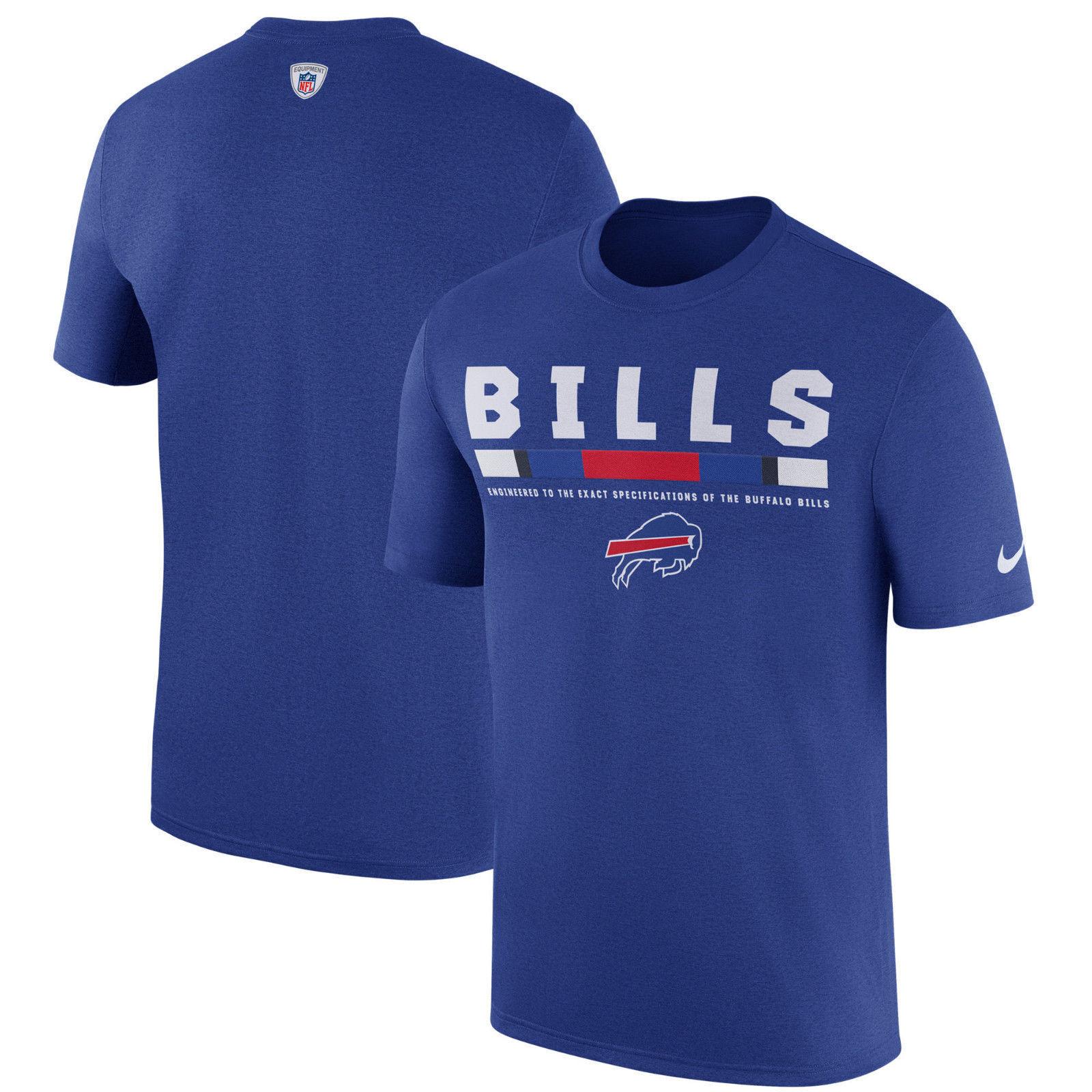 Buffalo Bills Nike On-Field Dri-Fit Touch T-Shirt