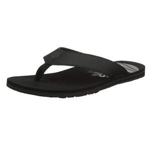 744d40e6cad8 Timberland Men s Wild Dunes Black Flip Flop Thong Sandals A1IDB
