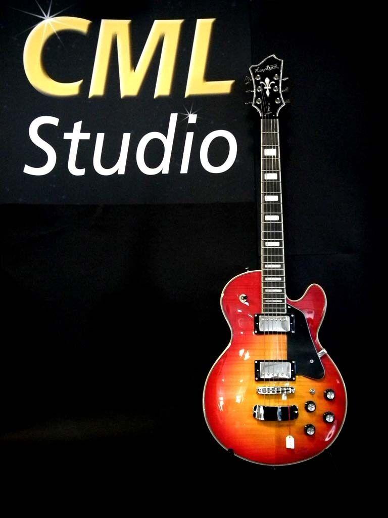 E-Gitarre Hagstrom Super Swede rot