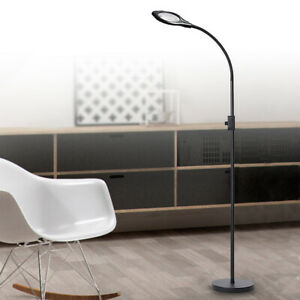 Magnifying-Floor-Lamp-LED-Acrylic-Lens-Light-Dimmable-Beauty-reading-Magnifier
