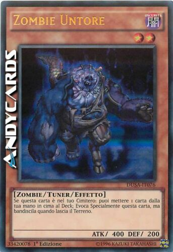 Zombie Untore ☻ Ultra Rara ☻ DUSA IT076 ☻ YUGIOH ANDYCARDS