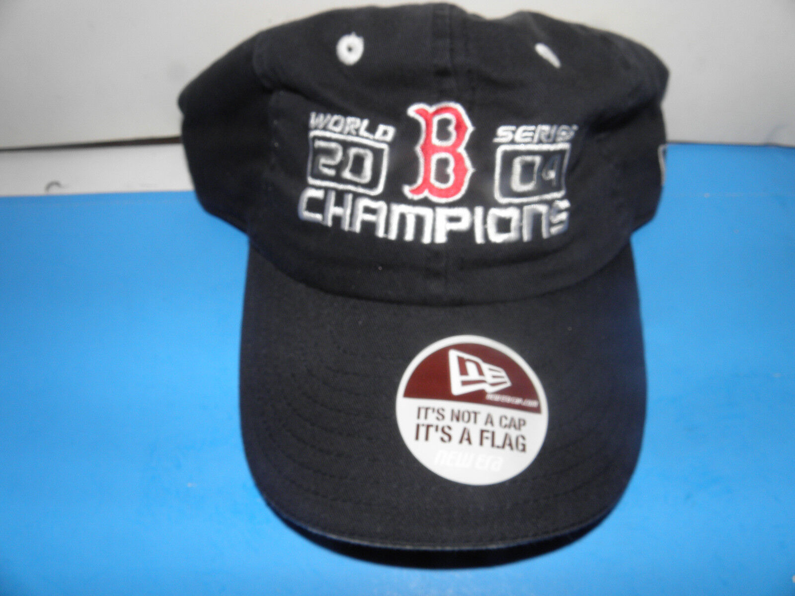 MLB Boston Red Sox  2004 World Series Champions  Sox Logo Hat NWOT c44dc0