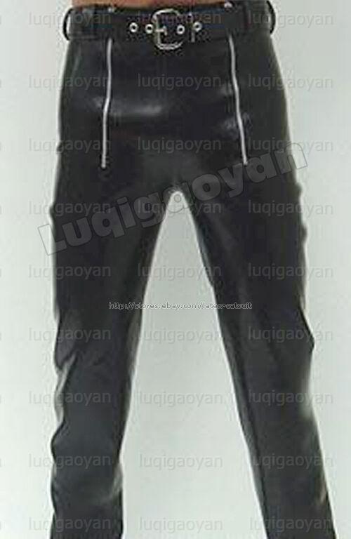 100% Latex Rubber Pants 0,8mm Hose Jeans Schlaghose Catsuit Ganzanzug Kostüm HOT | Die erste Reihe von umfassenden Spezifikationen für Kunden  | Genial Und Praktisch  | Verschiedene Arten und Stile  | Schönes Design  | Vielfältiges neues Design