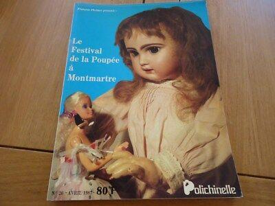 Dolls & Bears Sensible Polichinelle N°26 Festival Poupee Montmartre Theimer 1987 Corolle Barbie