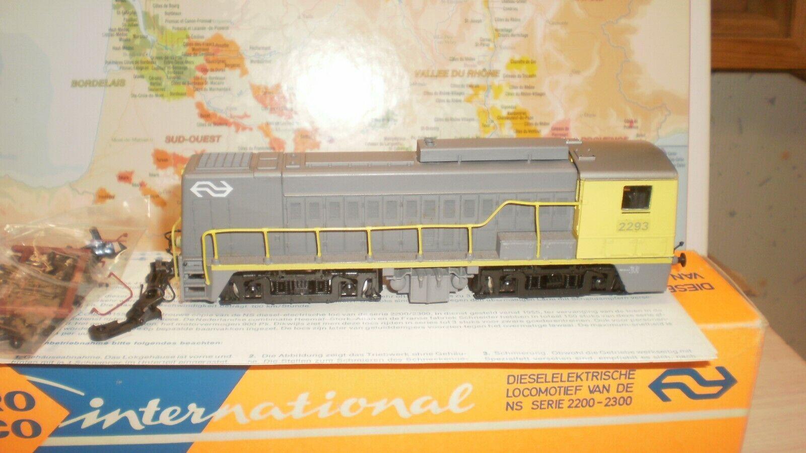 nuovo stile Loco diesel 2293 NS Roco Roco Roco HO  goditi il 50% di sconto