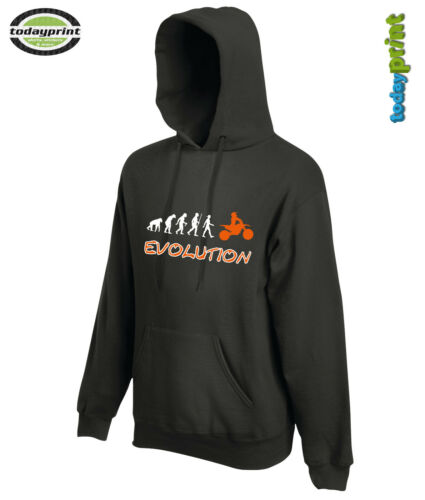 Enduro Orange KTM Sweat Shirt ZB Adventure Motocross Evolution Capuche Hoodie