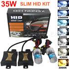 HID Xenon Headlight 35W Conversion KIT H1/H3/H4/H7/H11/9005/9006/880/881/9004/7