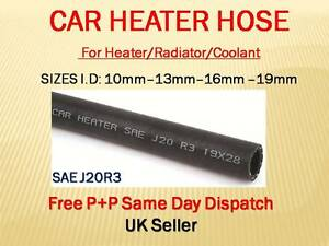 EPDM SAEJ20R3 Flexible Rubber Car Heater Radiator Coolant Hose Water Pipe SAE R3