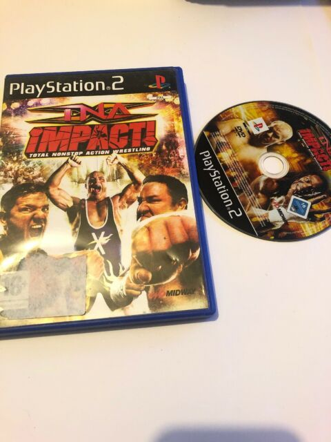 🥳 jeu playsation 2 ps2 ps3 fr tna impact total non stop action wrestling comple