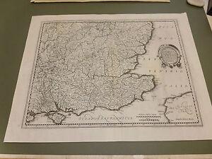 image is loading 100 original large south east england london map