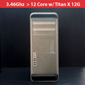 Titan X 12g mc561ll/a 2010 Apple Mac Pro 3.46ghz 12-core 64gb Ram /2tb Hdd