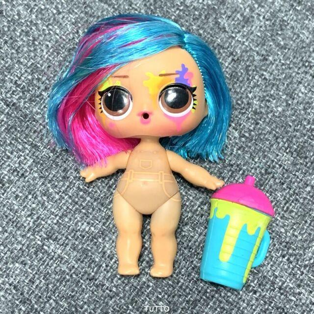 Lol Surprise Doll Splatters Hairgoals Makeover Series Hairspray Hair Goals SDUS1
