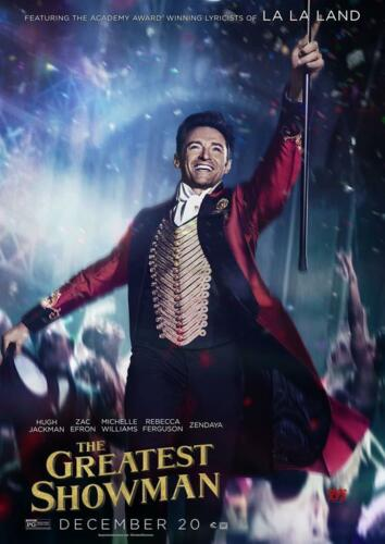 A3 SIZE THE GREATEST SHOWMAN POSTER A4 BUY 2 GET ANY 2 FREE
