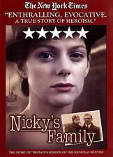 Nicky's Family (DVD, 2013)