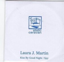 (BY918) Laura J Martin, Kiss By Good Night / Spy - 2011 DJ CD