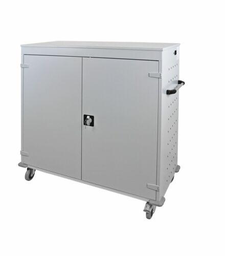 ADB Laptopwagen Notebook-wagen Tabletwagen Rollwagen 30 Fächer 1250x1310x500 mm