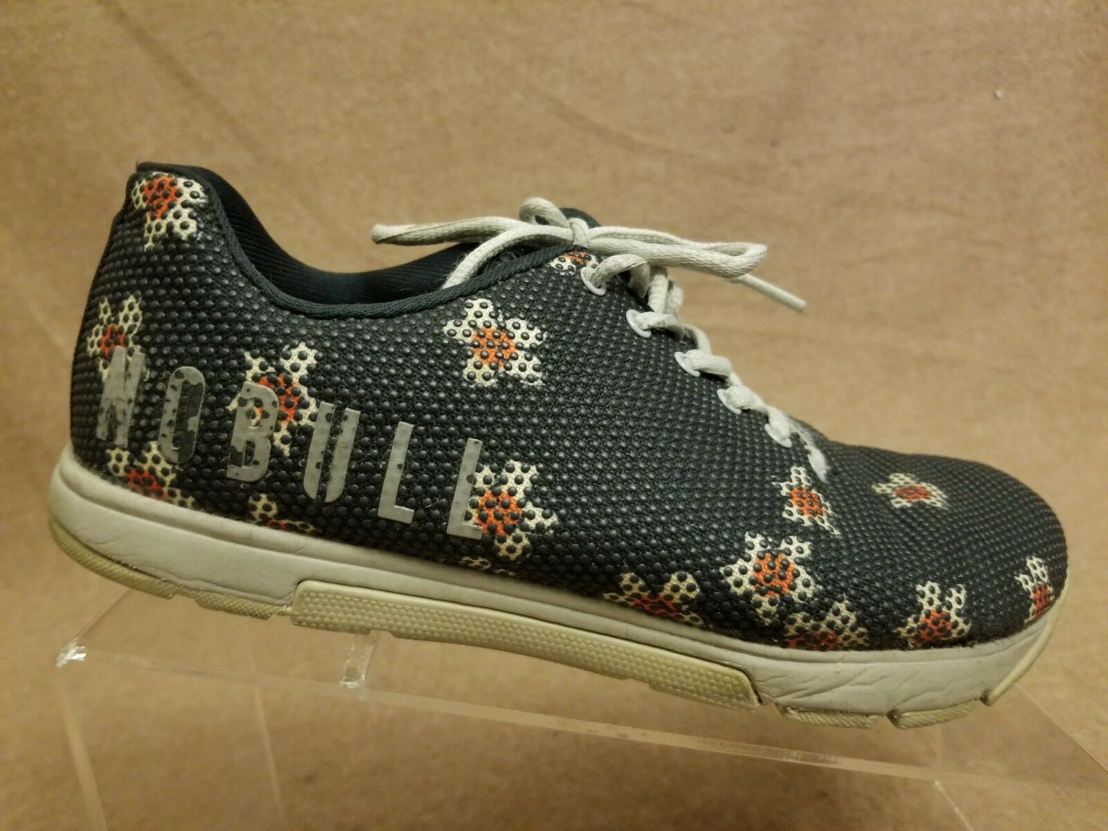 Nobull Unisex Blue Floral Superfabric Trainer Fashion Sneakers Sz Men 7.5 Wo's 9
