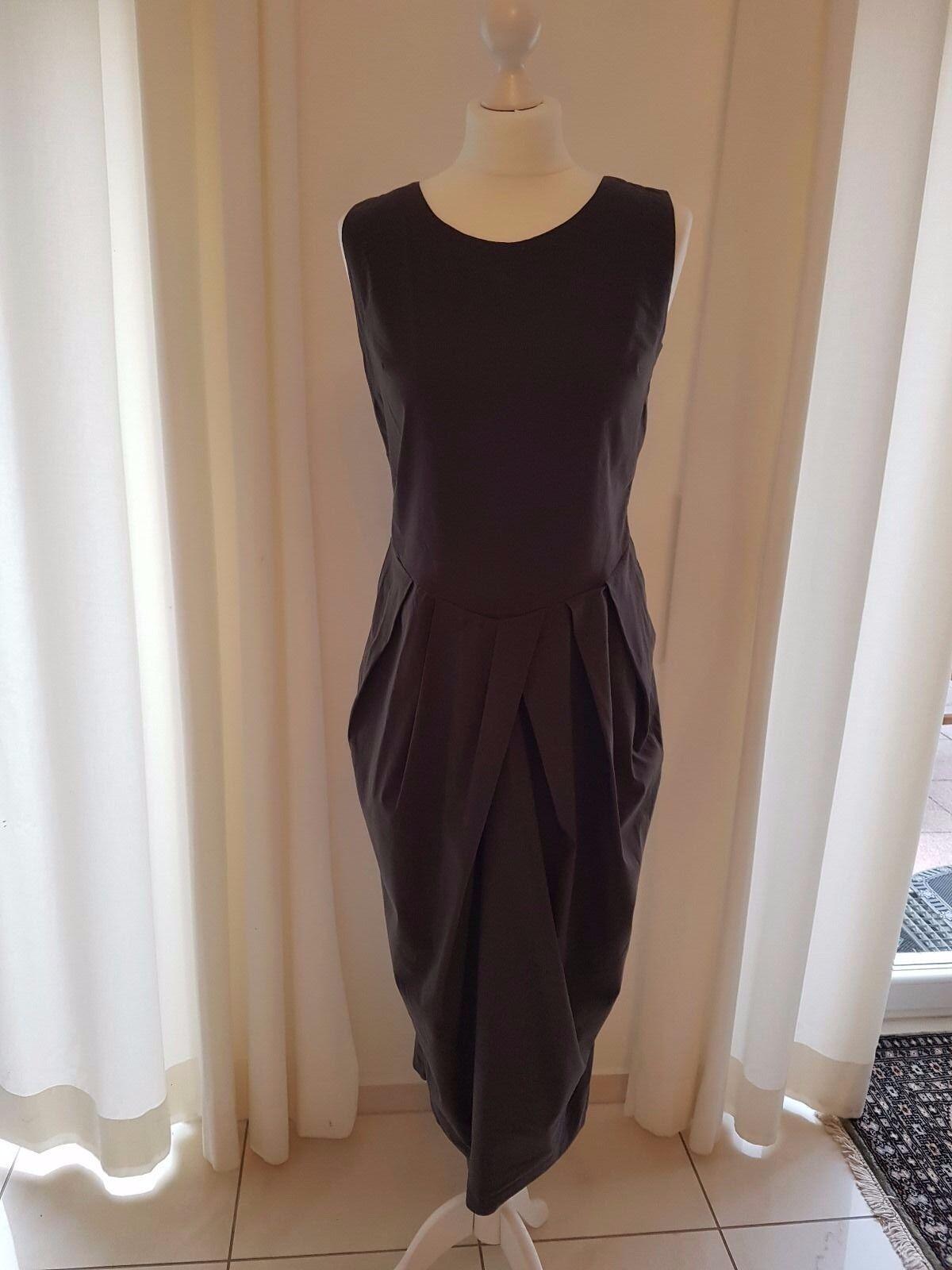 Kamuflage Lagenlook Kleid Diva o. Arm Gr 1 = 36 38 40 schlamm leichte Baumwolle