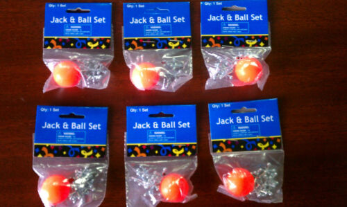 200 Sets of Metal Jacks and Ball Classic Game Birthday Party Give-A-Way Kid