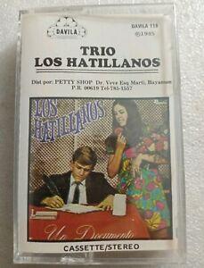 Trio-Los-Hatillanos-Un-Documento-DAVILA-118-1985-Cassette-Sealed