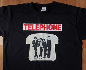 T-Shirt-TELEPHONE-Rock-Francais-Neuf