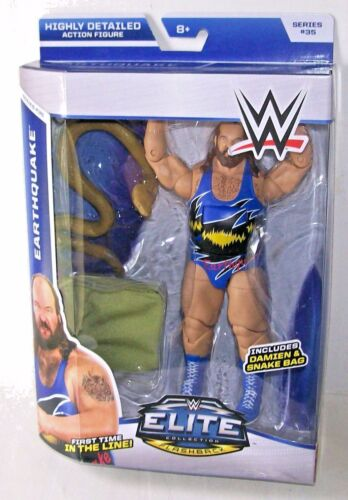WWE WRESTLING ELITE SERIES SUPERSTAR CLASSIC WRESTLER EARTHQUAKE FIGURE MATTEL
